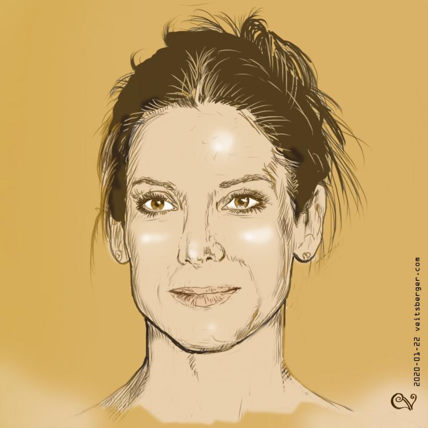 Sandra Bullock by veitsberger